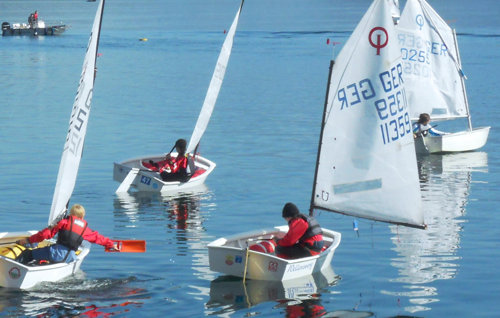 sailing school training lake como