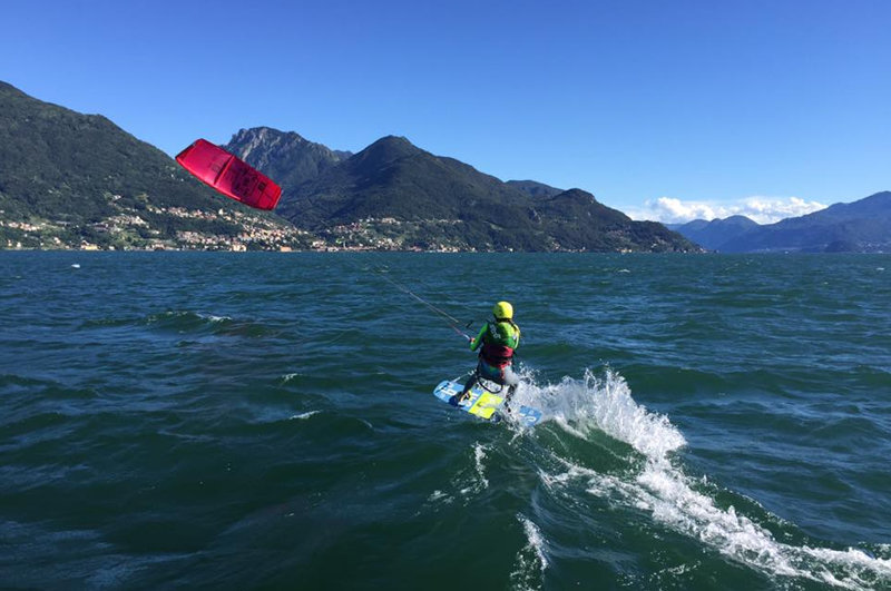 upwind Kiteschule am Comer See