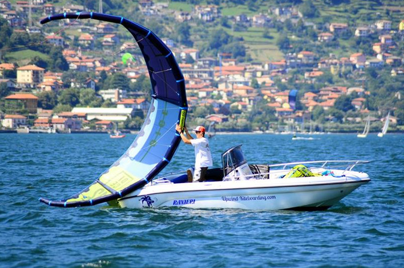 upwind Kiteschule am Comer See