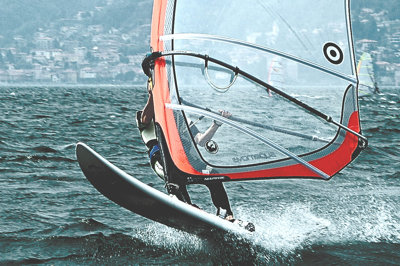 Windsurf lake como